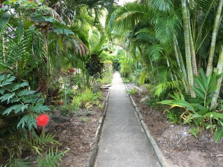 Path to hotel